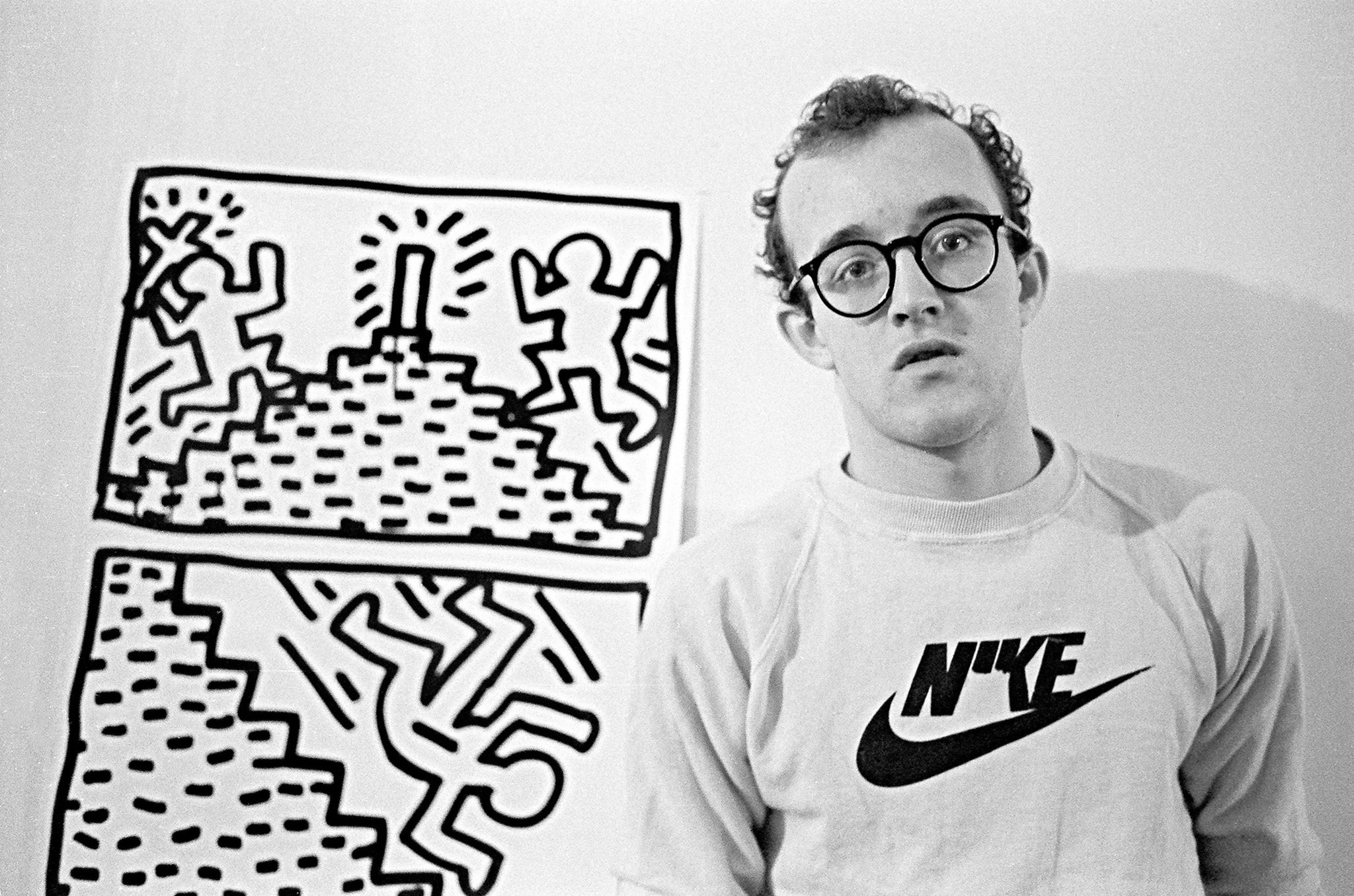 Happy birthday, Keith Haring. You should still be here today. Thank you for your art