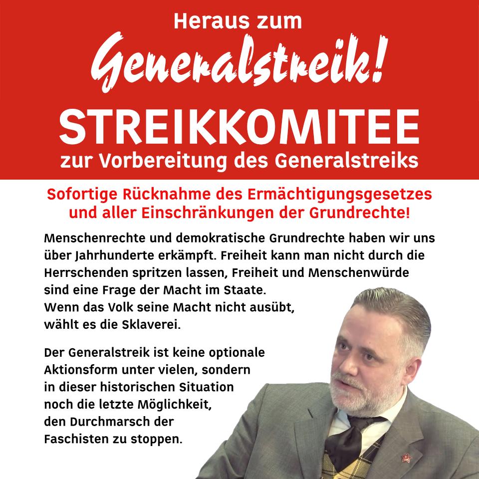 Heraus zum Generalstreik!
