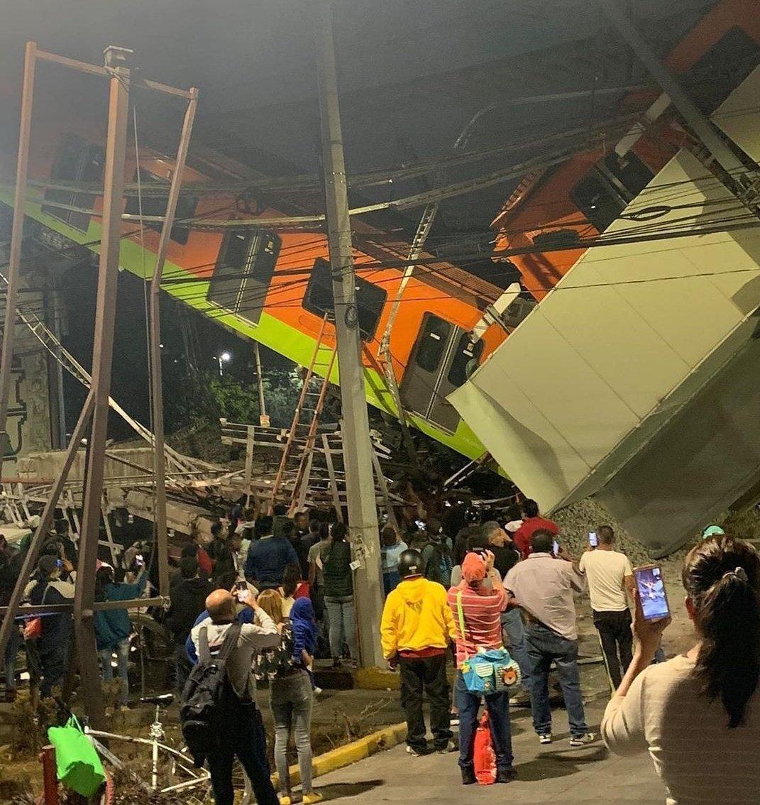 Sheinbaum: 20 muertos, entre ellos niños, tras el accidente de la línea 12 del metro_03