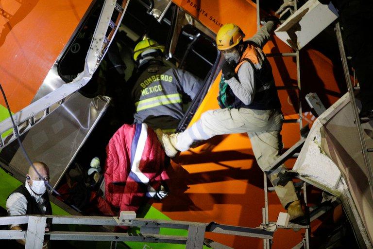 Sheinbaum: 20 muertos, entre ellos niños, tras el accidente de la línea 12 del metro_02