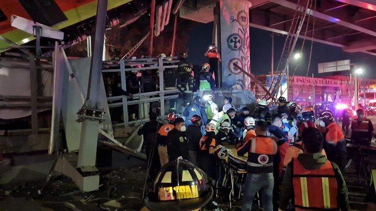 Sheinbaum: 20 muertos, entre ellos niños, tras el accidente de la línea 12 del metro_06