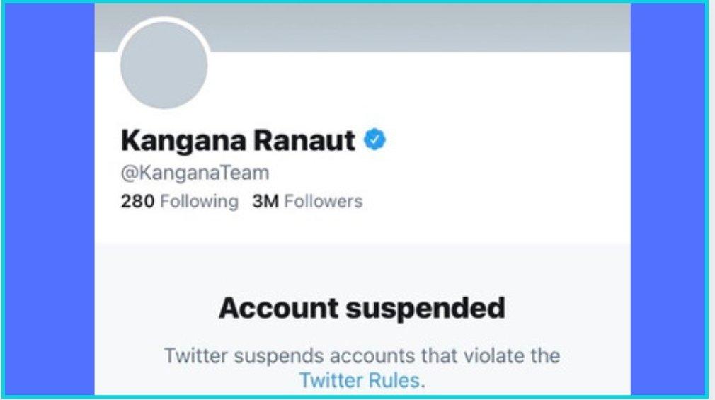 A little late but Thank you @TwitterIndia  #KanganaRanaut https://t.co/D3nMgyHtSX