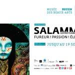 Image for the Tweet beginning: L'exposition Salammbô est reconnue d'intérêt