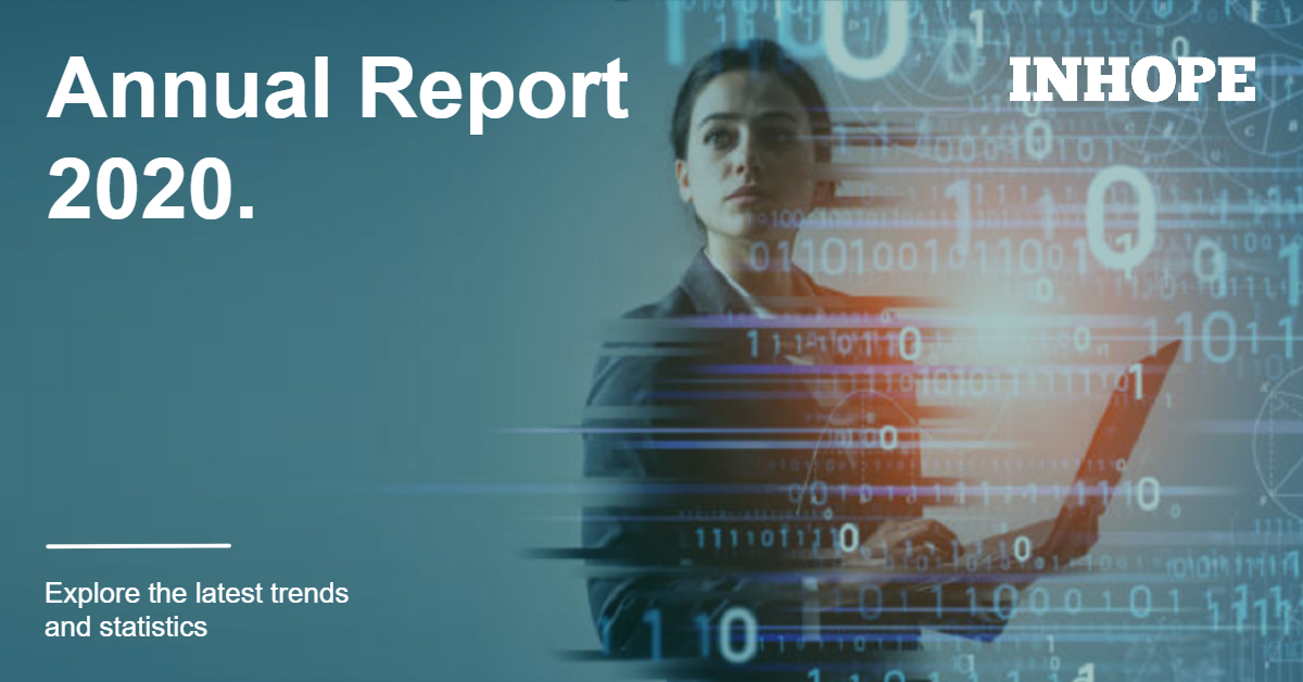 Read @INHOPE_PR's newly released Annual Report to explore the trends and statistics for global reporting of child sexual abuse material.   #childsexualabusematerial #CSAM #CSEA #SafeOnline #ReportIt #childsexualabuse #childsexualexploitation