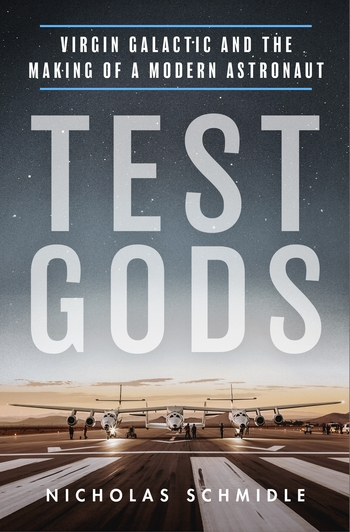 3, 2, 1: 🚀 #TestGods launches today! Based on *four years* embedded with Virgin Galactic, #TestGods blends access+investigative reporting to tell the real/raw/gritty story of VG – a story of brotherhood, fatherhood, hope and despair, tragedy and triumph. 1/ https://t.co/BYa1reus8E
