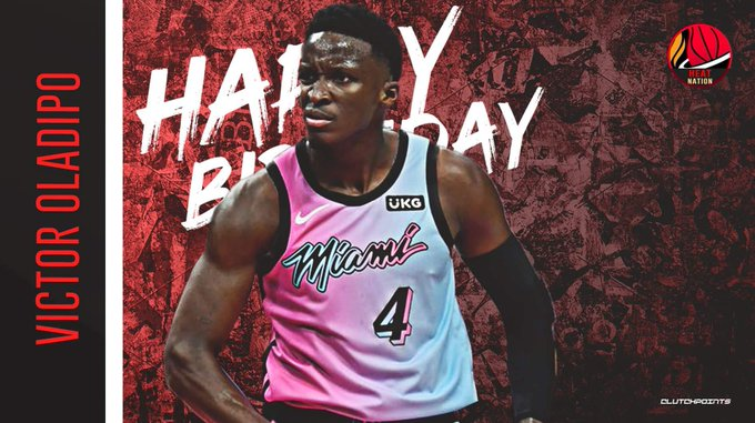Join Heat Nation in wishing Victor Oladipo a happy 29th birthday!