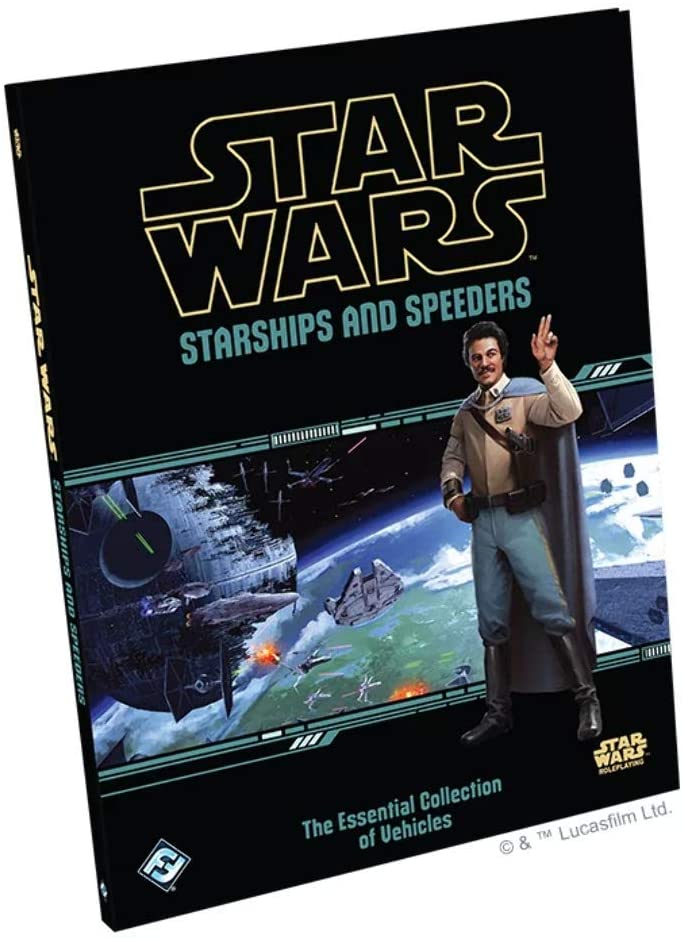 Star Wars RPG: Starships and Speeders  20% off, an Amazon all time low of $31.99