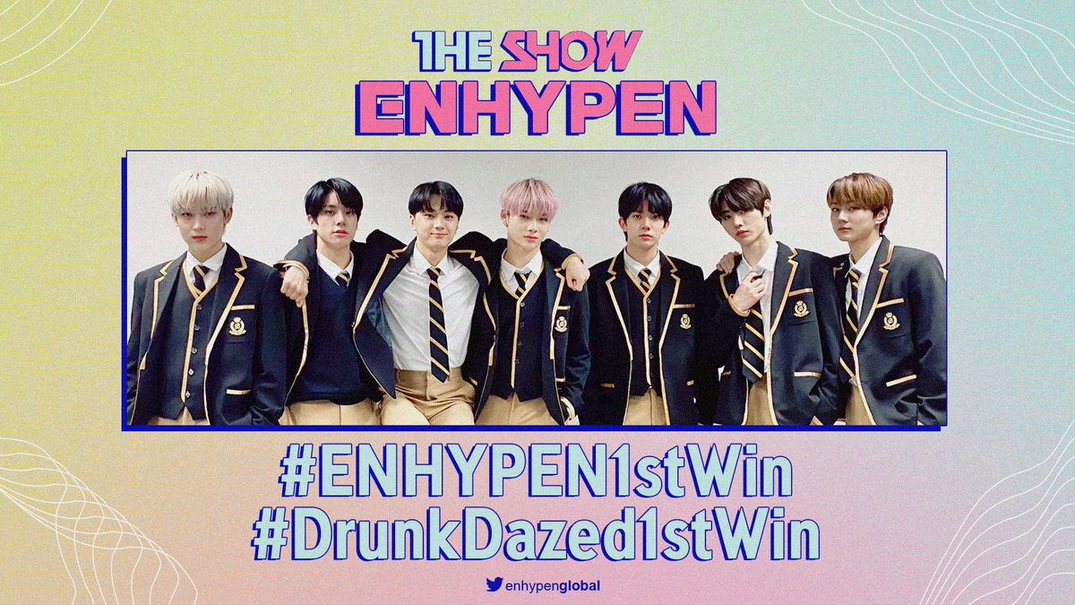 @ENHYPENGLOBAL's photo on #ENHYPEN1stWin