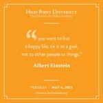 [CALENDAR] #DailyMotivation from Albert Einstein. #HPU365