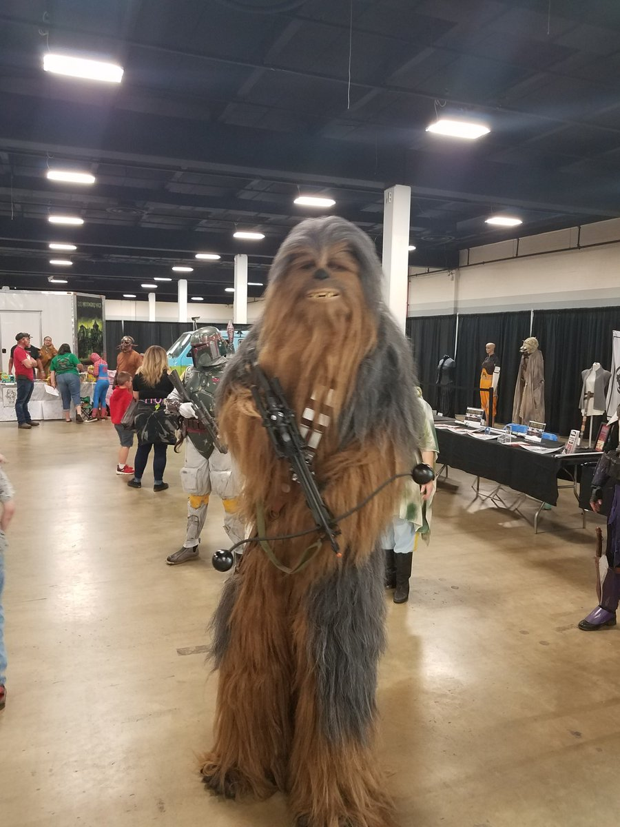RT @JeffreyLynn3: #greenvillecomicon #MayThe4thBeWithYou  #StarWarsDay  #MayThe4th  #May4th   Greenville comicon https://t.co/TFn3wEiFbe