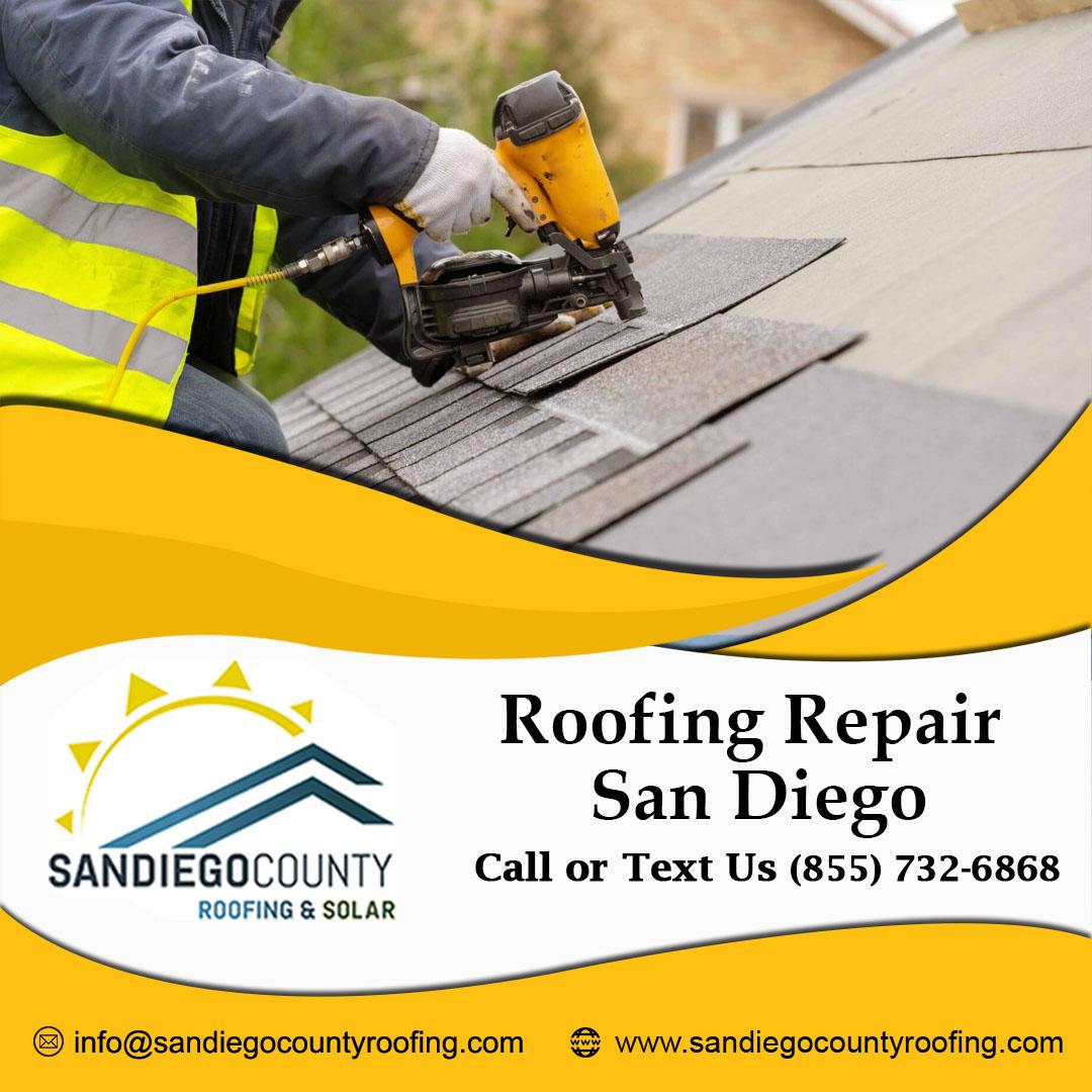 roof repair in San Diego