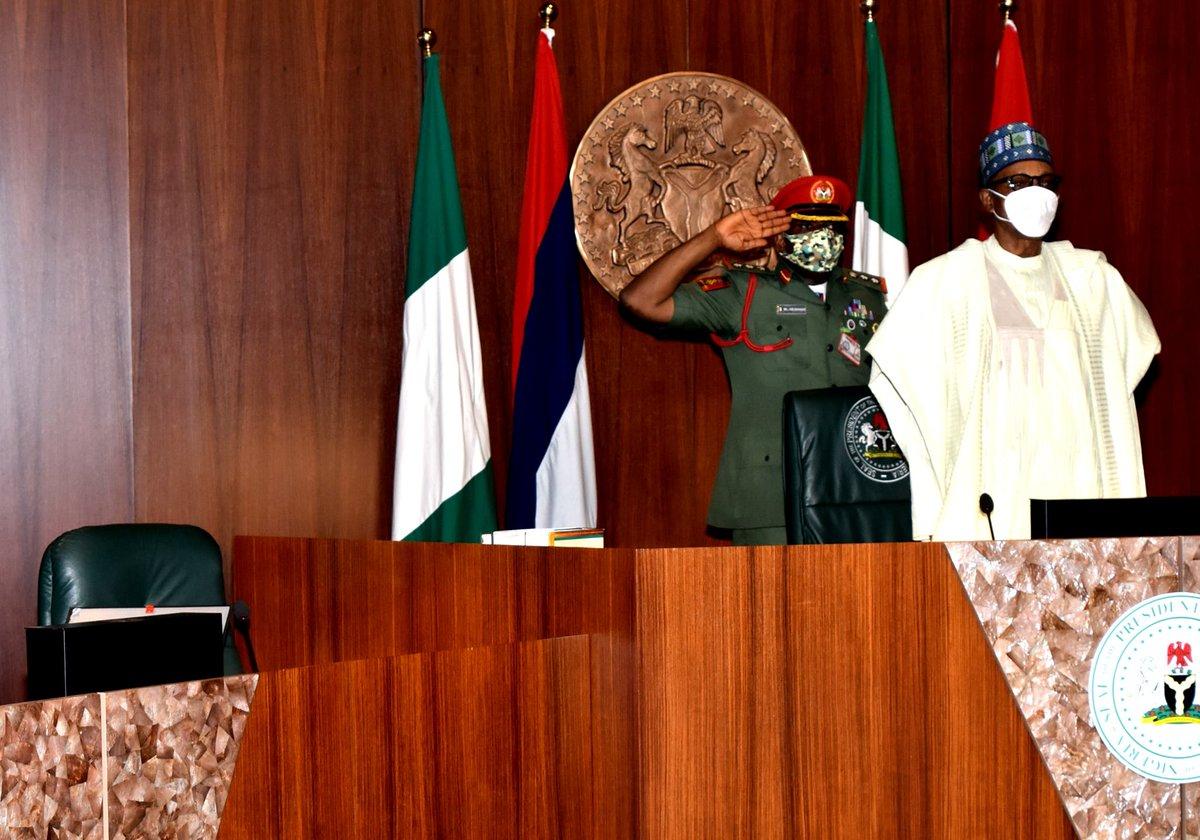 Security meeting reconvenes at Presidential Villa