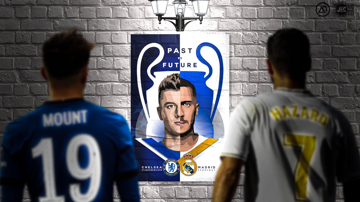 Tomorrow is Past vs Future.   Collab with @jackcleevely   #cfc #chelsea #hazard #mount https://t.co/eNEqVkkCH2