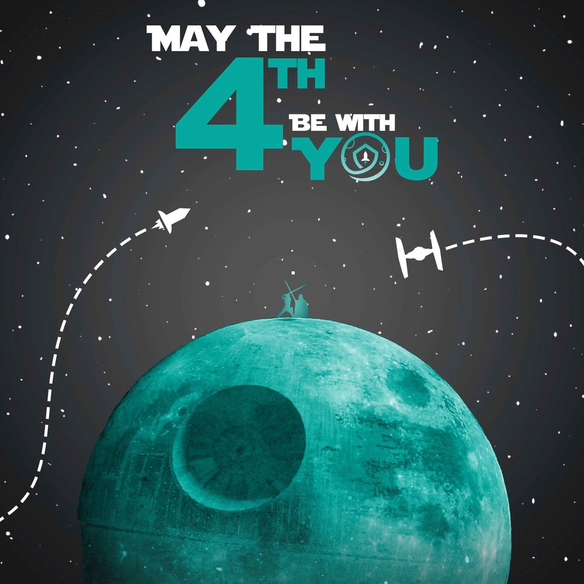 RT @safemoon: From the #SAFEMOON team #MayThe4thBeWithYou https://t.co/qbrMe6fqwJ