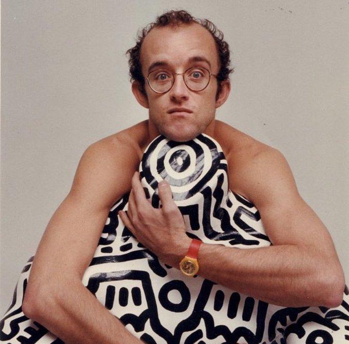 Happy 63rd Birthday Keith Haring