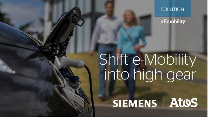Atos和@siemens已加入势力将您的#emobility计划转移到高速齿轮中....