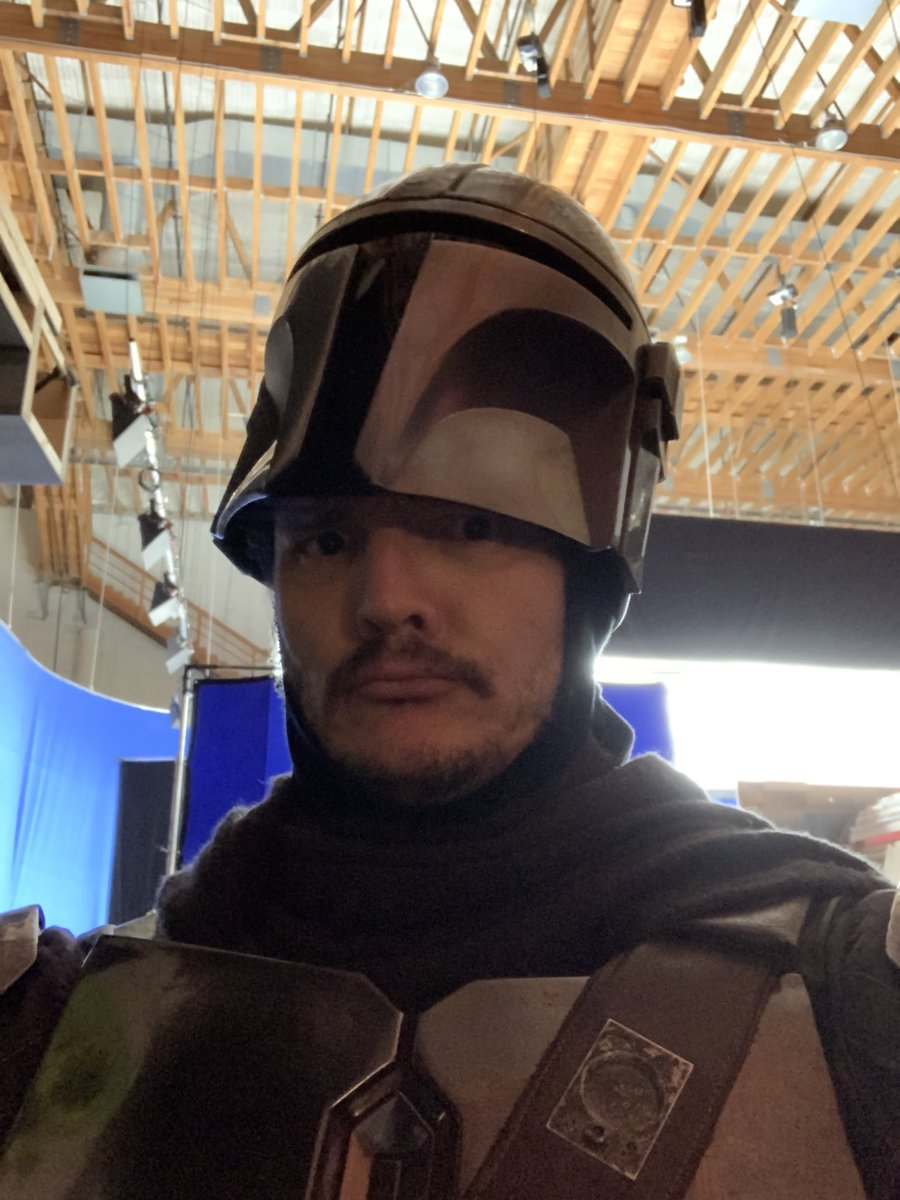 RT @PedroPascal1: Category is:  helmet head realness. #Maythe4thBeWithYou https://t.co/XUUF4hYjN3