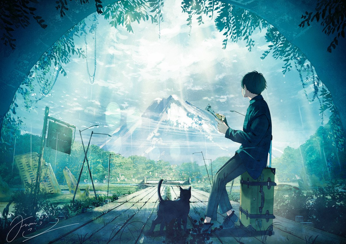 RT @fusui0519: 緑 #みどりの日  #みどりの日なので緑色の画像を貼る https://t.co/9blhOC1NsL
