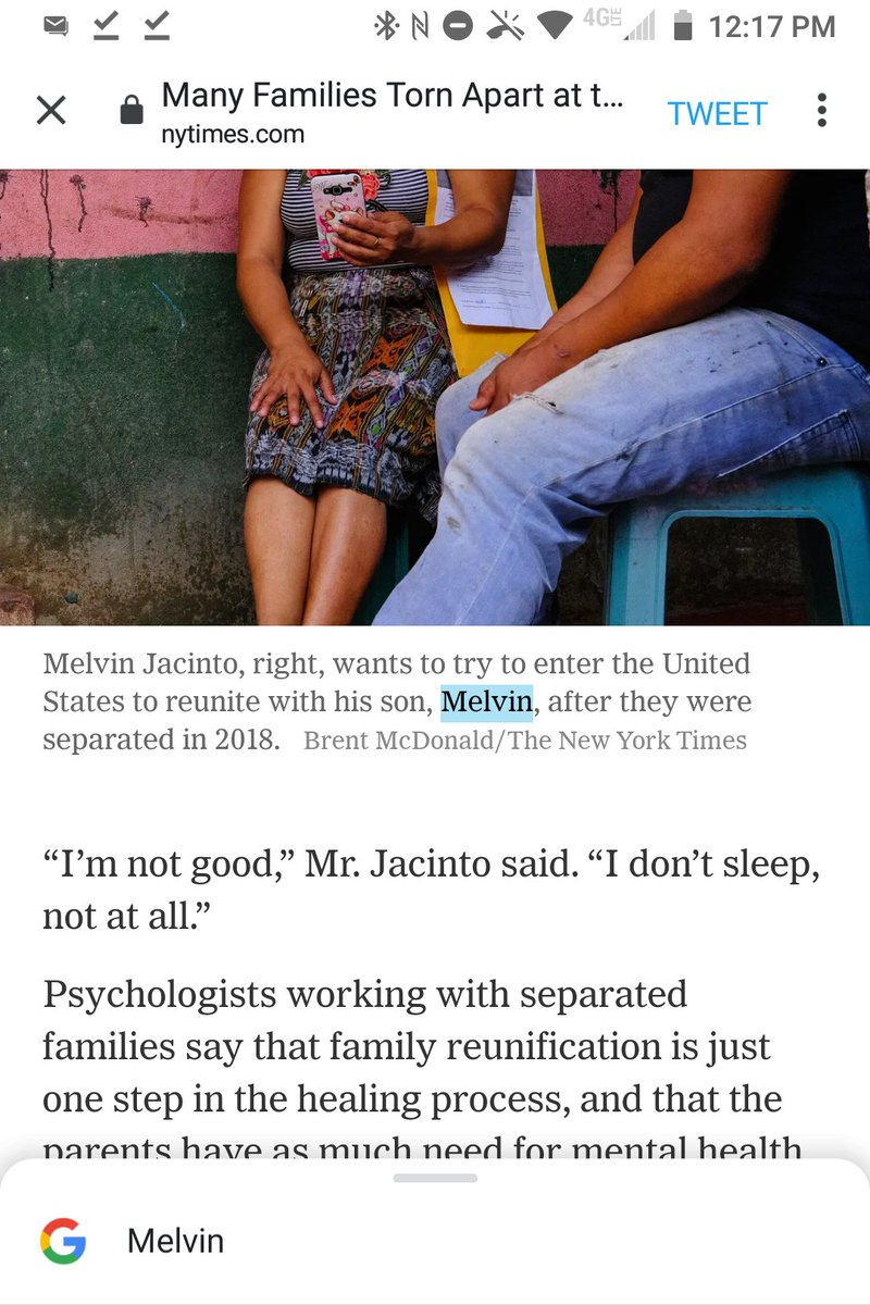 @docubrent @nytimes A photo caption calls Melvin Jacinto's son Melvin (Jr.?), but your copy tells us his real name is Rosendo. https://t.co/SBLM4YSr0f
