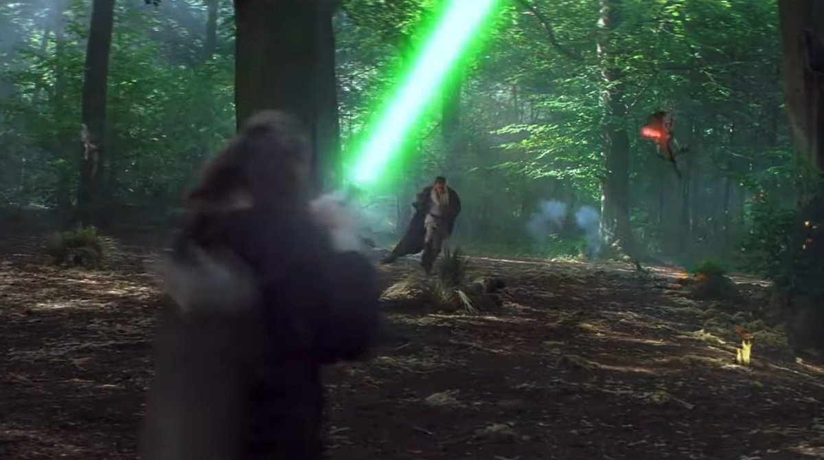 As it's May the 4th it must be time to remind everyone that Whippendell Woods near Watford was used for filming parts of Star Wars: Episode I The Phantom Menace. Notably the opening scenes on Naboo, and the Gungun Sacred Place. https://t.co/DLwZInxnrp
