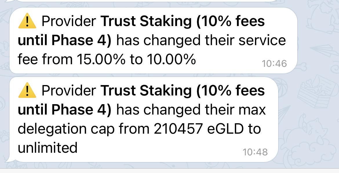 .@truststaking taking care of their new and existing customers! Well done! https://t.co/cLgikt2Uux