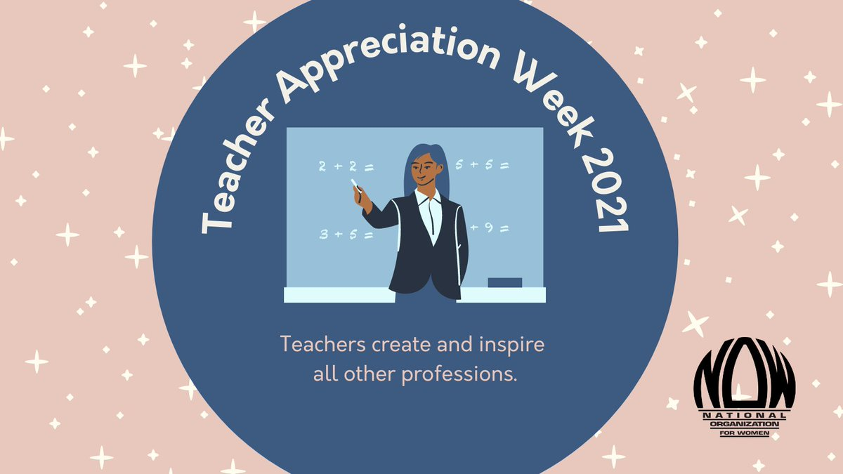 @NationalNOW's photo on #TeacherAppreciationWeek