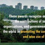 Image for the Tweet beginning: 8th #WetlandsConservationAwards 2021 & Evian