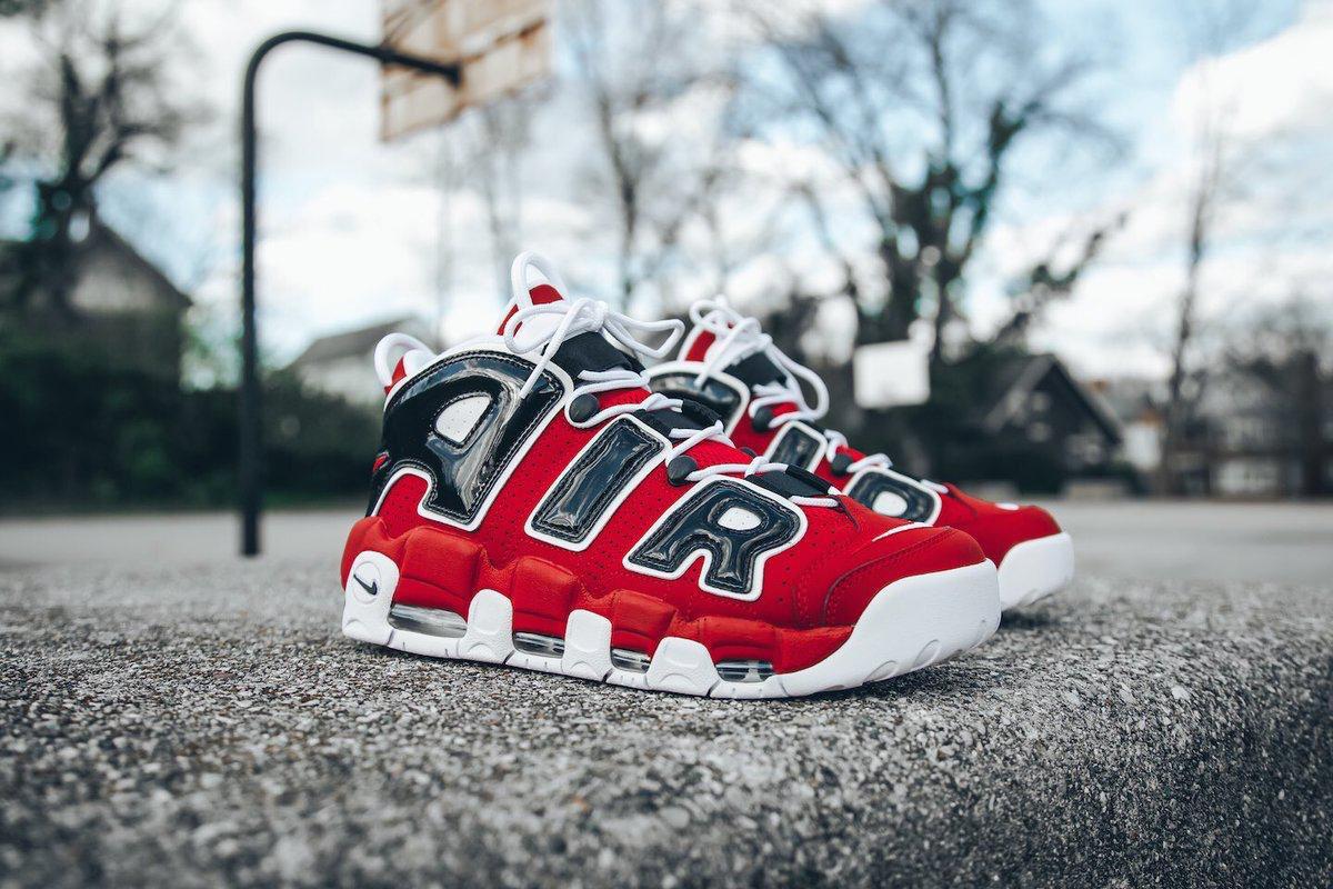RESTOCK via Footlocker Nike Air More Uptempo '96 'Bulls' =  2