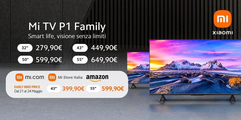 Xiaomi Mi TV P1, nueva gama de televisores de Xiaomi - Noticias Xiaomi