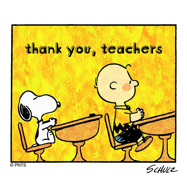 @Snoopy's photo on #TeacherAppreciationWeek