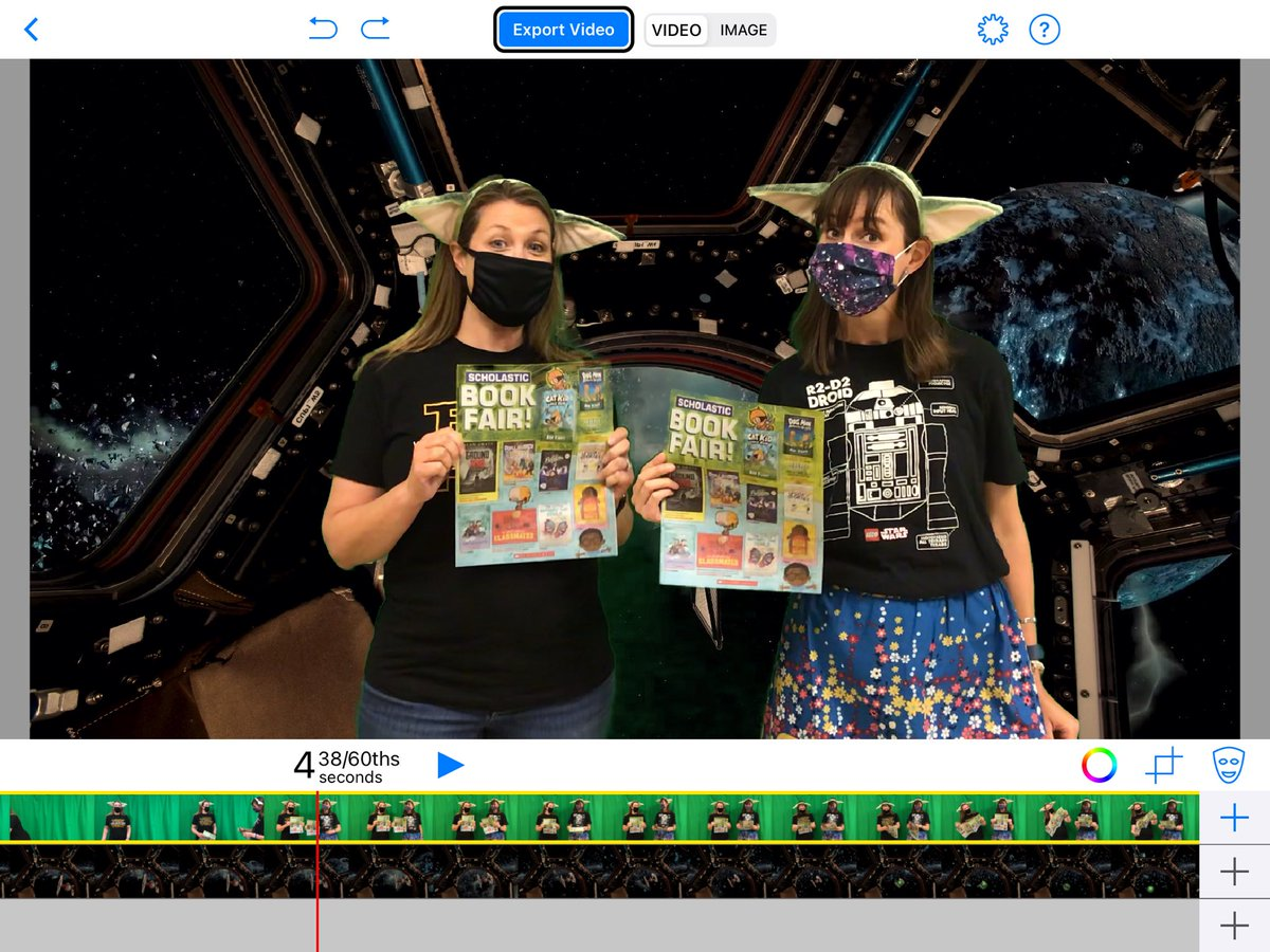 RT @MrsPageTurner: Couldn't let #MayThe4th pass by without a little greenscreen ✳️ Star Wars action with @OlszewskiStevie @DoInkTweets !  #maytheminutesbewithyou #MayThe4thBeWithYou https://t.co/YKxHijdX1J #doink #greenscreen