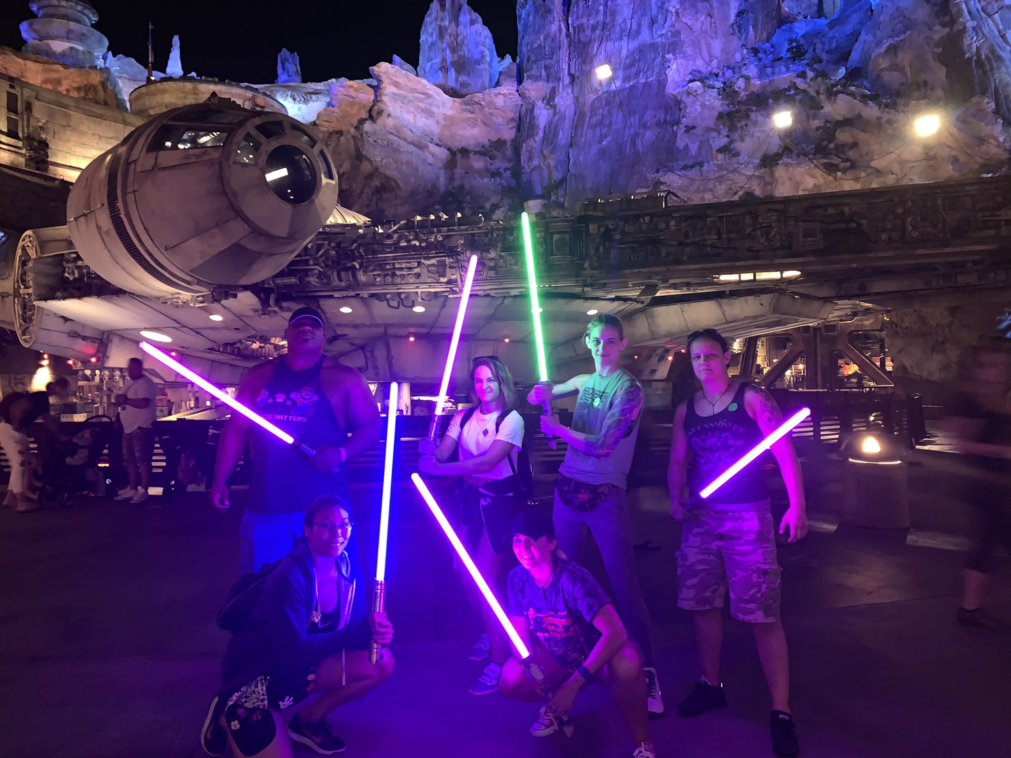Photos: WWE Superstars And Fans Celebrate Star Wars Day