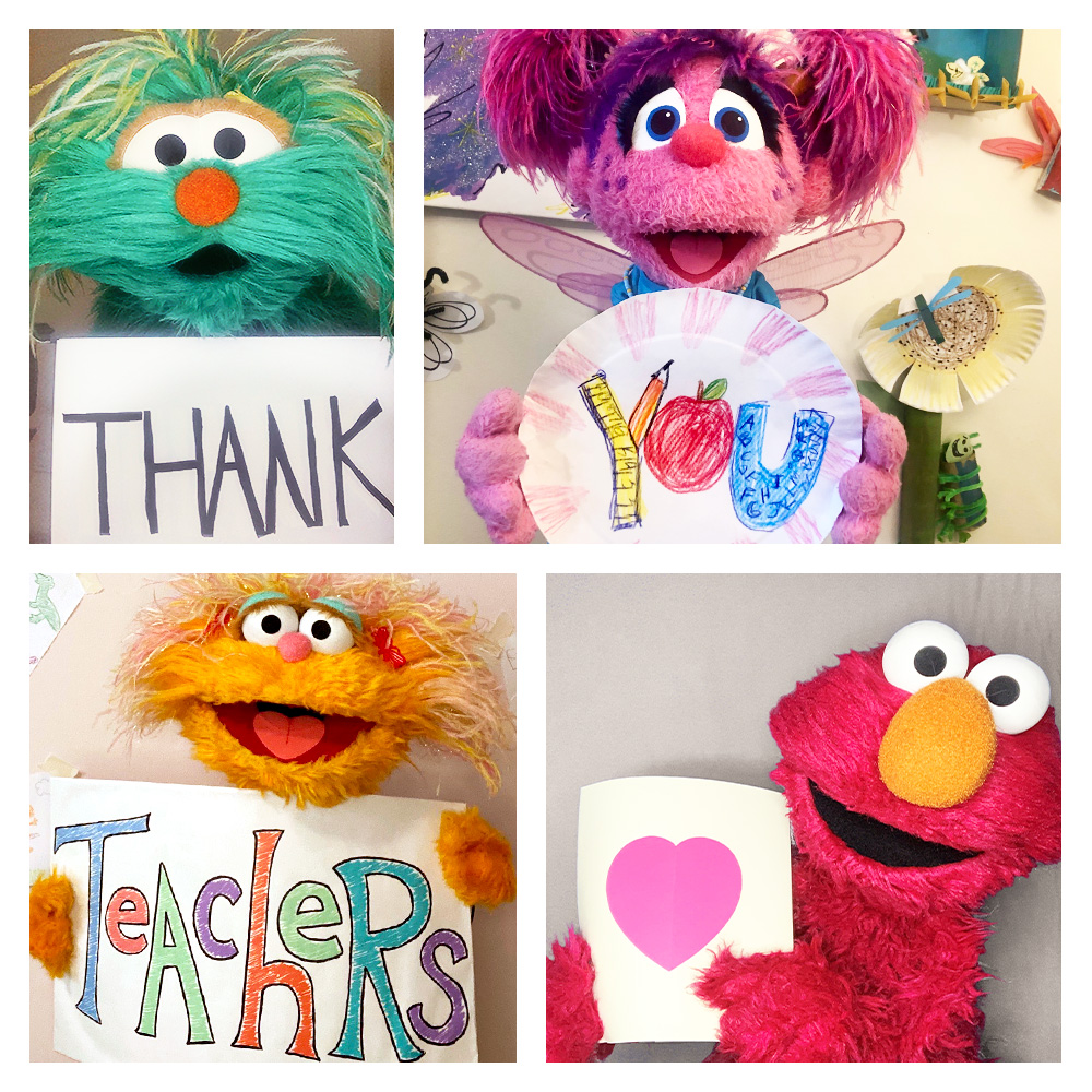 @sesamestreet's photo on #TeacherAppreciationDay
