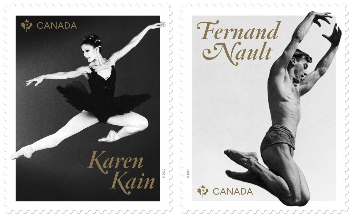 Legends of Canadian Ballet being honoured by Canada Post  https://t.co/HJ47aPJIBM https://t.co/Q5dqN7fefO
