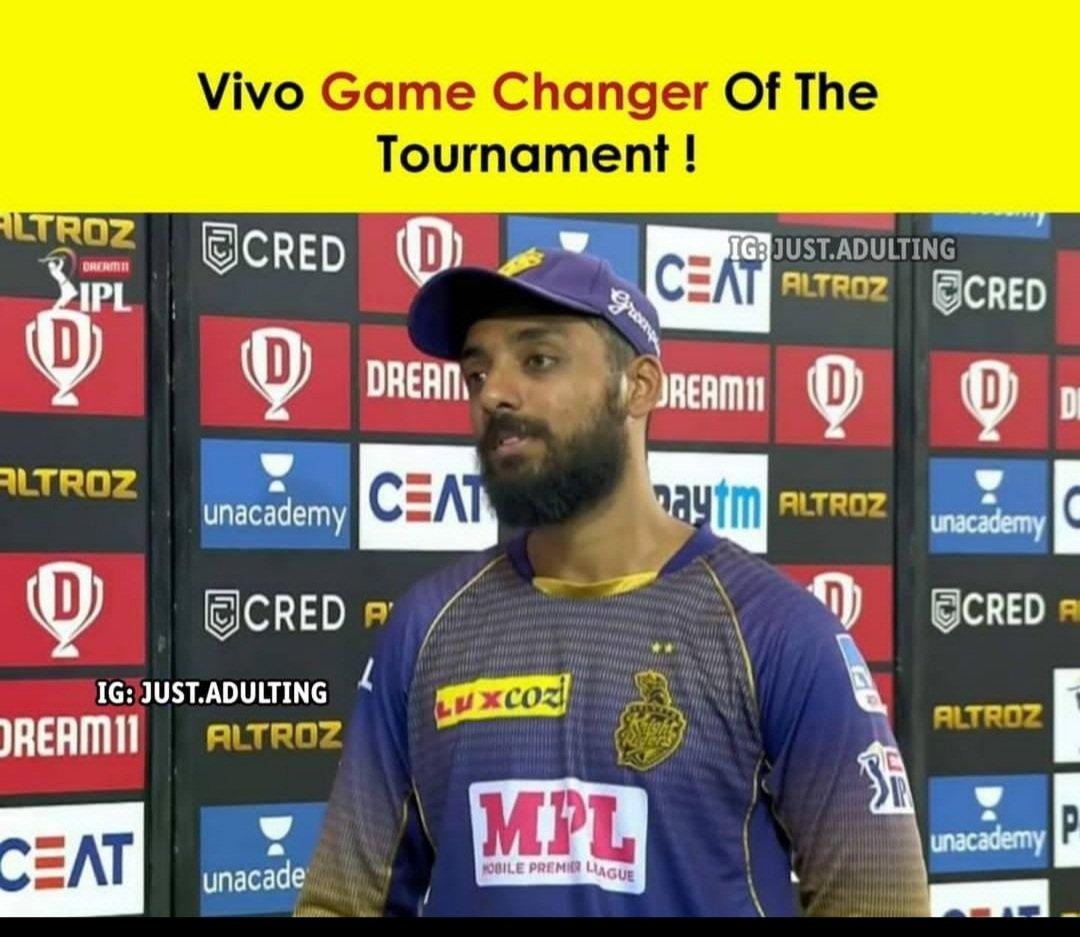 So this season #IPL2021 BCCI Announcement this yar Chakravati game of changer of IPL 2021🤣🤣 #IPLCovidBreach #iplcancel #iplpostponed #iplpostponed #MIvsSRH #KKRvsRCB #IPLT20 #IndianPremierLeague #COVIDSecondWave #CovidIndia #CoronaSecondWave #CancelIPL #coronavirus #CancelIPL