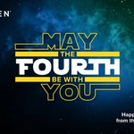 Image for the Tweet beginning: May the 4th be with