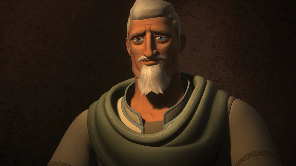 RT @RealClancyBrown: Ryder Azadi wishes you a happy #StarWarsDay #MayThe4thBeWithYou #StarWarsRebels https://t.co/YNmqDZf1vu
