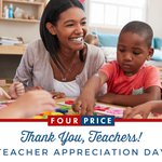 Image for the Tweet beginning: Happy #TeacherAppreciationDay to our dedicated