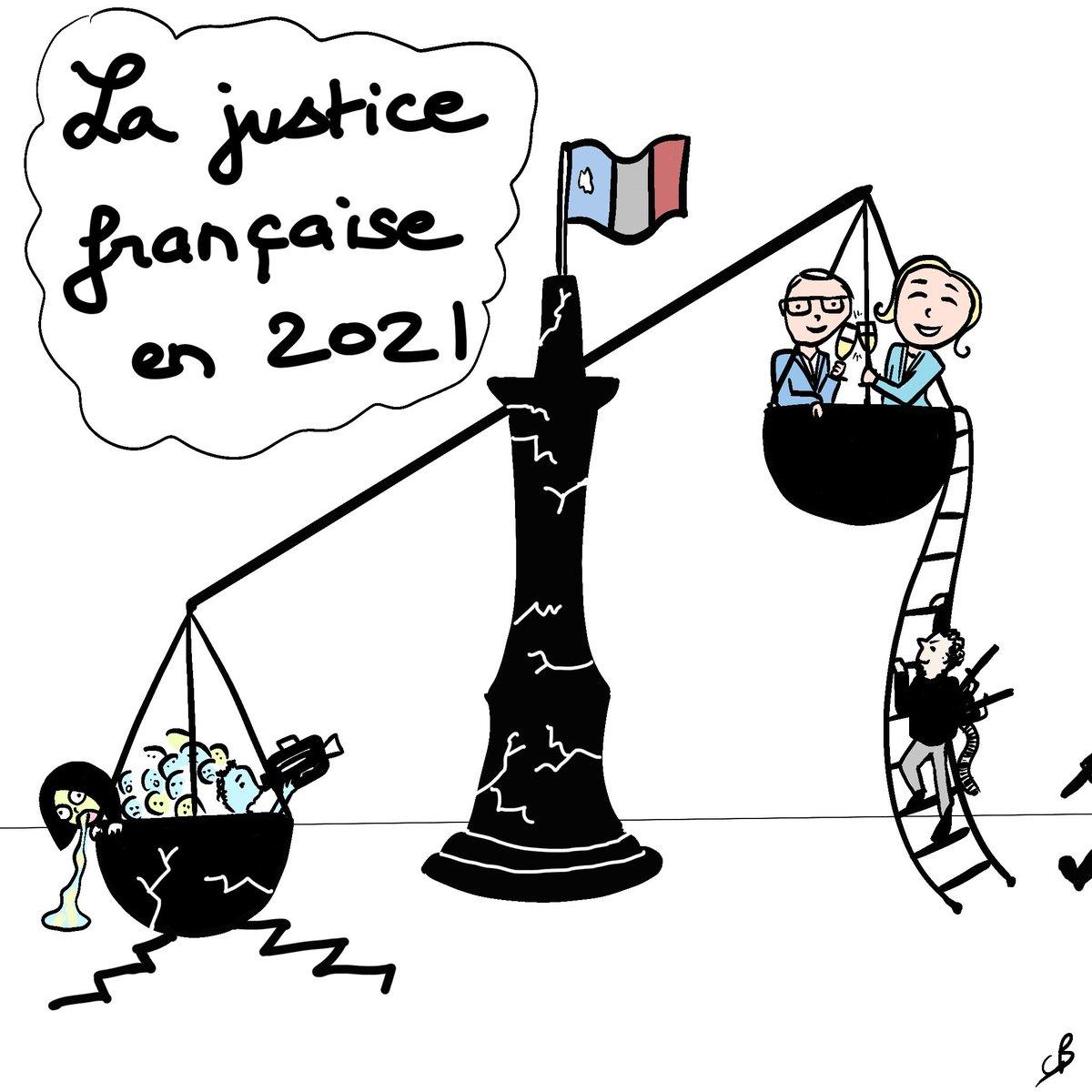 RT @cathbertrand5: La justice française en 2021 vue par une victime de terrorisme. https://t.co/nZ5WWJtbkU