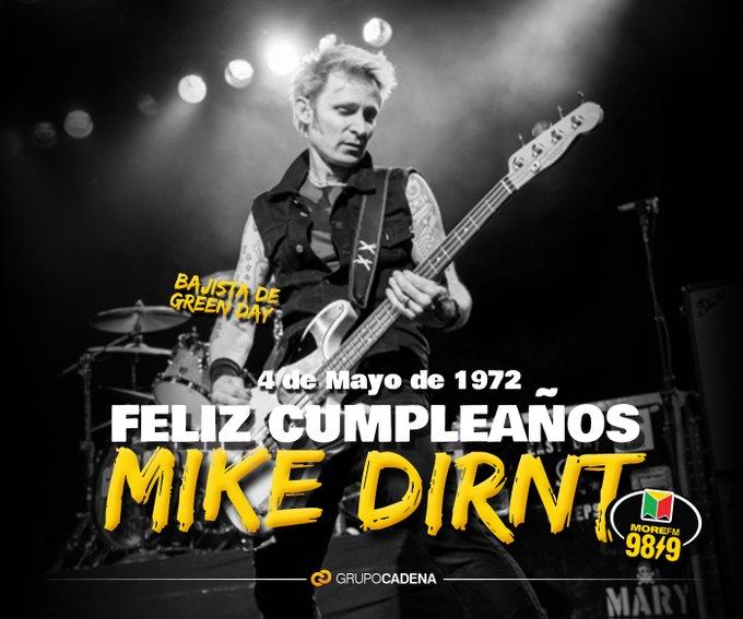 ¡Happy Birthday Mike Dirnt!