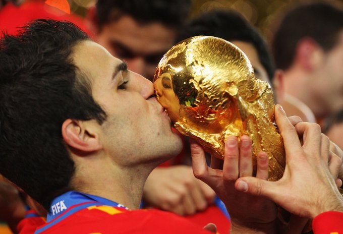 Happy 34th birthday to pass prince and winner, Cesc Fabregas