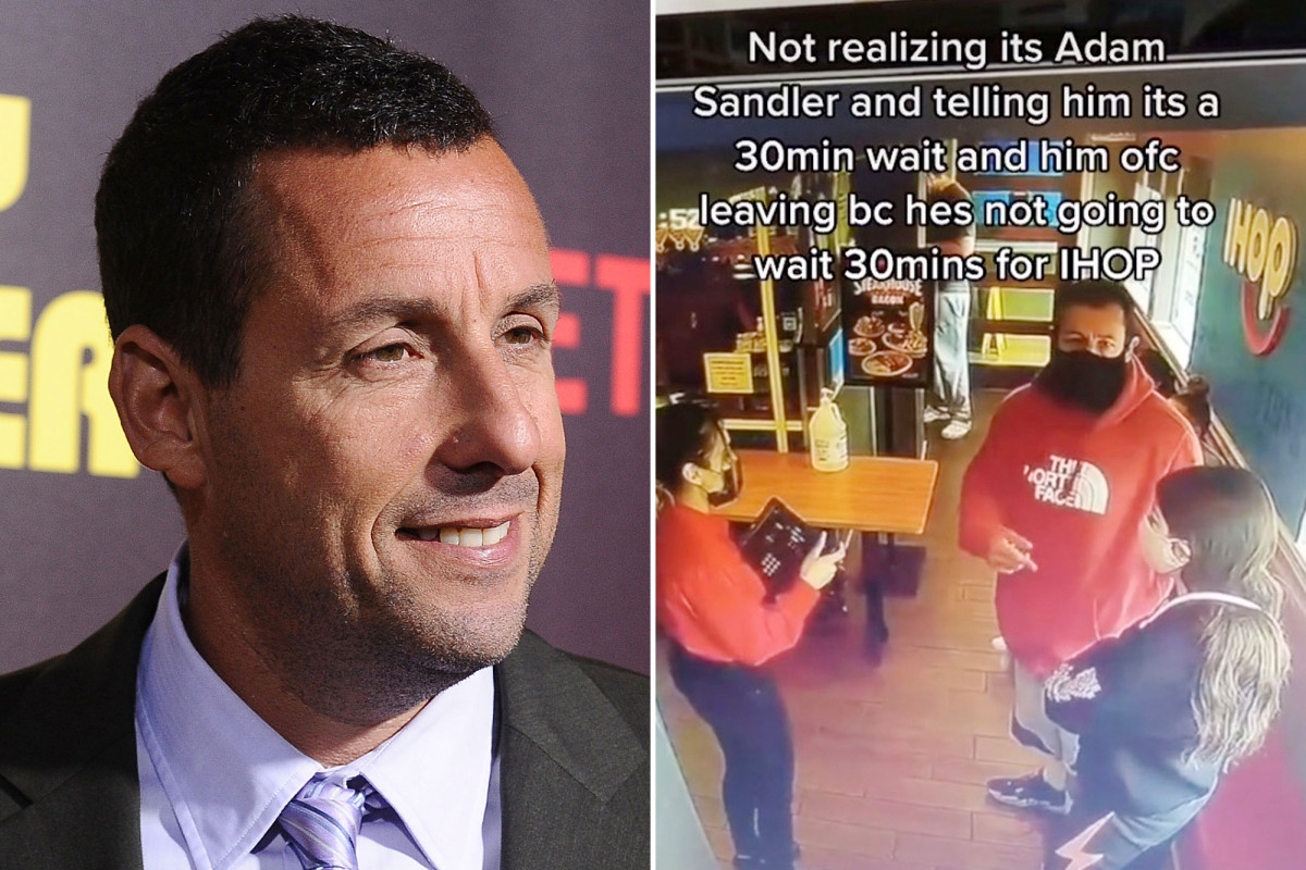 Adam Sandler has hilarious response to being turned away from IHOP Photo