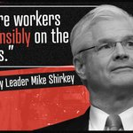 Image for the Tweet beginning: Mike Shirkey should be ashamed