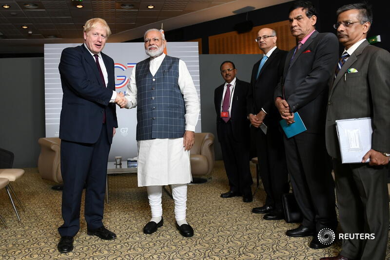 UK and India step closer to trade deal, agreeing investment and migration pacts Photo
