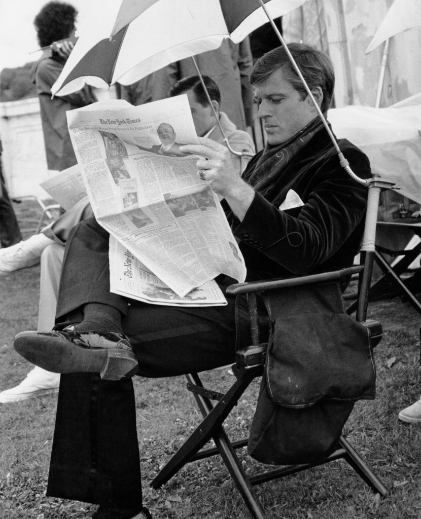 RT @TheOldHollywood: Robert Redford photographed during a break from filming on the set of The Great Gatsby (1974) https://t.co/b39NdGHjfP