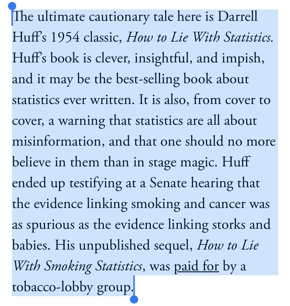 Good article about disbelief being at the root of belief in conspiracy theories from @TimHarford — did not know this bit before! https://t.co/1UlLs43STg https://t.co/Be5u9nfQZ6