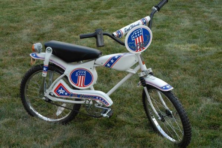 I mean c'mon it's an Evil Knievel bike - what did they expect?!