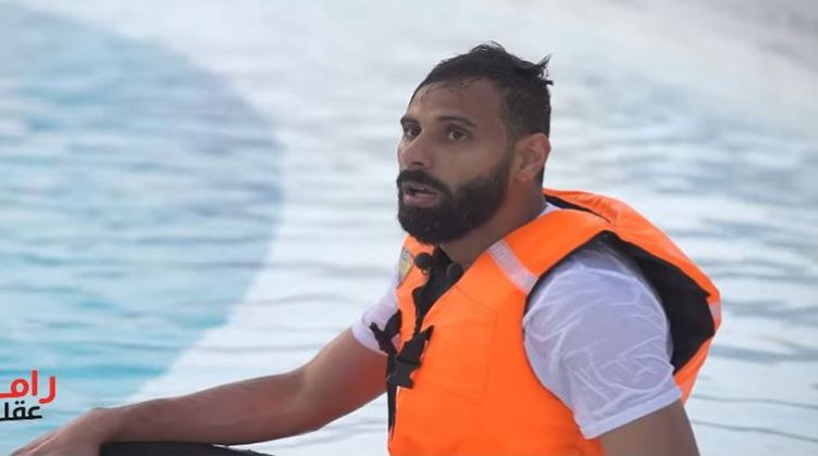 بوابة الوفد شاهد.. ذهول محمود جنش بعد رؤية رامز جلال في رامز عقله طار