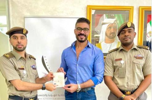 الامارات العربية المتحدة تمنح الإقامة الذهبية لـ خالد سليم