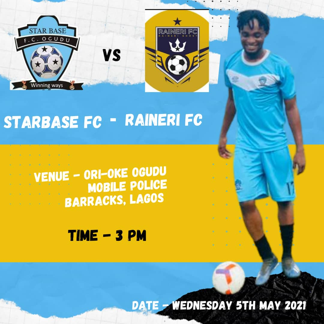 Another test game for the boys,it's going to be an entertaining one.  #starbase #winningways #friendlymatch https://t.co/JLBgozdKxq